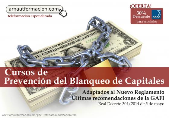 Actualizaciones cursos Prevención Blanqueo Capitales y Gestión Fiscal