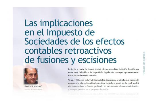 Entrevista a Basilio Ramirez en la Revista AECA