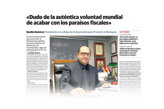 Entrevista para Diario El Correo
