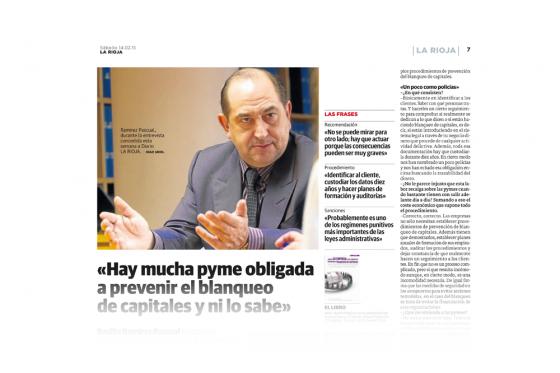 Aparición en Diario La Rioja