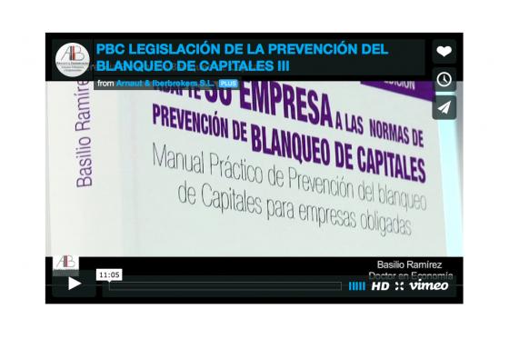 PBC Legislación de la Prevención del Blanqueo de Capitales III