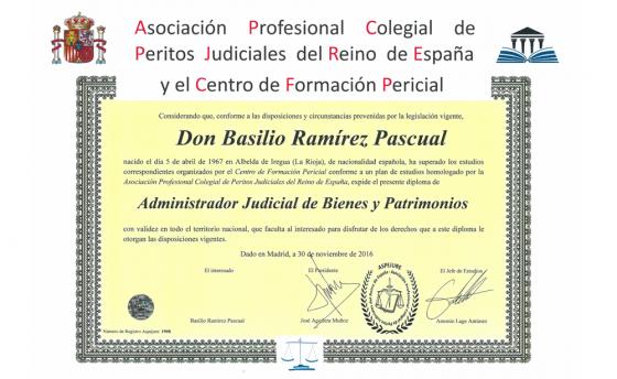 Administrador Judicial de Bienes y Patrimonios