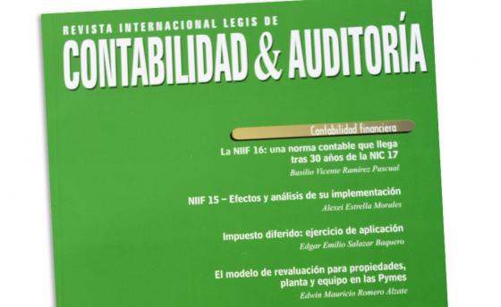 La editorial Legis publica un artículo de Basilio Ramirez Pascual
