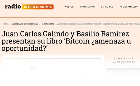 Juan Carlos Galindo y Basilio Ramírez presentan su libro en Intereconomía