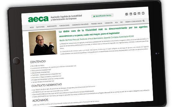Publicado el artículo de Basilio Ramírez 'La doble cara de la titularidad real' en diversas asociaciones y centros profesionales españoles