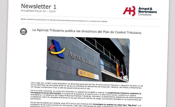 Arnaut Iberbrokers lanza la publicación 'Actualidad Fiscal de enero'