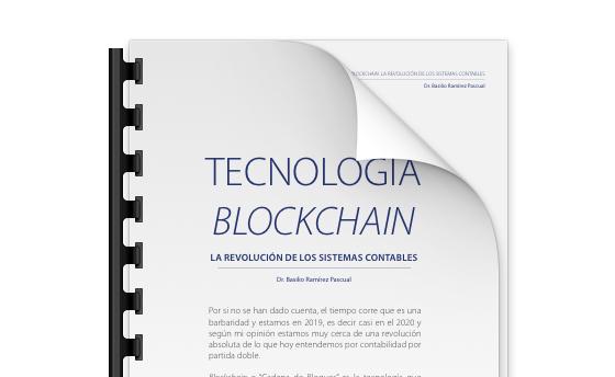Tecnología blockchain. La revolución de los sistemas contables