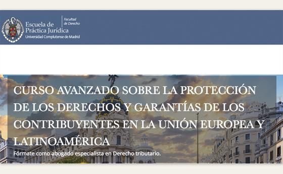 Comunicarte mi participación en el Curso avanzado «La protección de los derechos y garantías de …